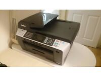 Brother MFC-6490CW All-in-one A3 Inkjet Printer & Scanner - Wireless / Ethernet / USB connectivity