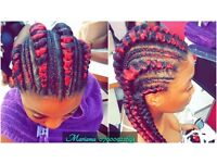 Afro European & Caribean friendly HAIRDRESSER 07900922693