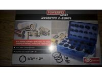 Assorted O-Rings Powerfix brand new