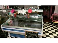 Display Serve Over Refrigerated Counter for sale