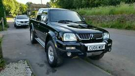 L200 warrior mitsubishi 05 plate with low mileage
