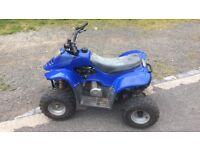 50cc quad runs and rides mint good brakes £250 Ono or swaps