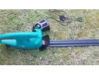 NEARLY NEW BOSCH CORDLESS HEDGE TRIMMER