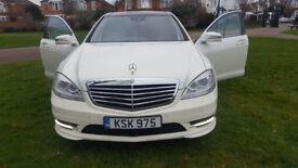 Mercedes-Benz S Class WHITE 3.0 S350 CDI BlueTEC AMG Line L 7G-Tronic Plus 4dr