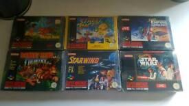 Snes games bundle nintendo