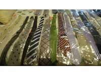 73 Silk Ties in excellent new condition - Moody and Althrup & Peel