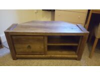 Next Wooden Corner TV Unit