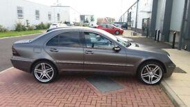 Mercedes c220 satin grey, silver alloys automatic