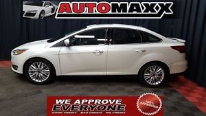 2015 Ford Focus Titanium Lthr/SR/Nav! $139 Bi-Weekly! APPLY NOW!