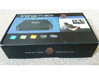 Android TV Box Quad Core Kitkat MXIII QuadCortex-A9 Octa Mali 450- Internet TV Multimedia Gateway