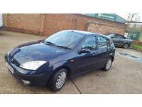 Ford focus automatic 1.6 ghia low mileage some service history in good condition