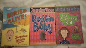 JACQUELINE WILSON books - childrens books