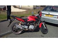 lexmoto zsx-r 125cc excellent bike 1 year mot