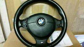 Bmw e39 m5 steering wheel with air bag