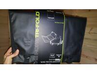 "Brand new black laptop bag 15.5"" with sholder strap"