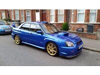 Subaru Impreza STi Type UK. Wide-track model