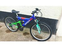 reflex hakka front and rear suspension mountain bike