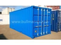 Chemical storage shipping container, bunded shipping container/steel floor container – 20ft for sale