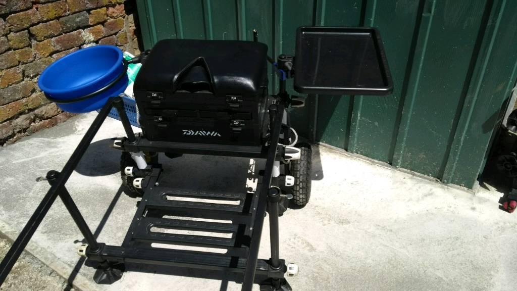 Daiwa Sb75 Seat Box With Wheel Kit In Middleton