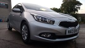 2013 '13 Reg' Kia Ceed 1.4 CRDi - Only 42,000 miles - Very Light Near Side Damage