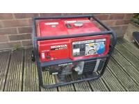 Honda EM2200 petrol generator 240v 110v