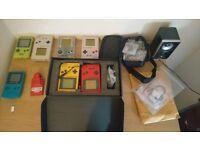 Job lot of Game Boy consoles