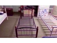 BRAND NEW IN BOX!! vienna bed frame metal frame single bed