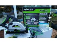Evolution Fury Circular Saw with extra disc.