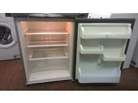 Silver Refridgerator Hotpoint under the worktop Fridge 60cm wide for sale