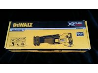 BNIB DeWalt DCS388N-XJ 54V XR FlexVolt Brushless Cordless Reciprocating Sabre Saw - Bare Unit.