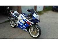 Suzuki gsxr 750 k1 (2000) sports bike