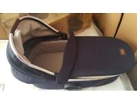 Mamas and papas navy carry cot