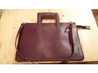 Brown Leather Document case