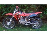 Honda XR100 Like CRF100 4-Stroke Motocross Dirt Bike Enduro Pit Bike Motorcross VGC XR100R