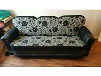 Sofa 3 seater and bed convertable