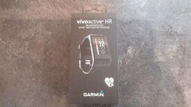 Garmin Vivoactive HR GPS smart watch, brand new still boxed.
