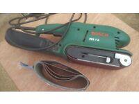 Bosch PBS 7A trade quality 230v belt sander