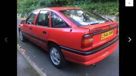 Vauxhall cavalier limited edition motorsports red top v6