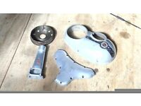 British Classic Bike parts - spare, man cave, shed feature