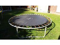 8 ft Plum trampoline