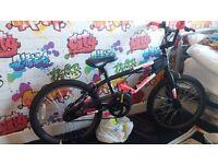 girls avigo 20 inch bmx spin bike brand new