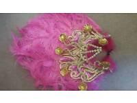Carnival samba show girl costume