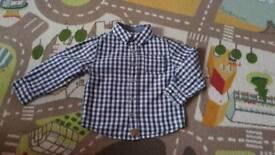 3 boys shirts 18-24