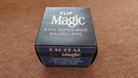 Brand New Bower Flip Magic 0.45X Super Wide Macro Lens 37mm