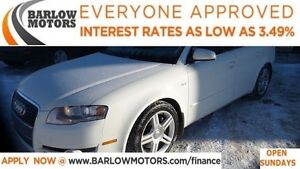2006 Audi A4 2.0T Quattro *EVERYONE APPROVED* APPLY NOW DRIVE N