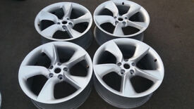 PRICE DROP : FOR SALE : MUST GO : ASTRA GTC Turbines - 4 x AlloyWheels + Center Caps + Bolts
