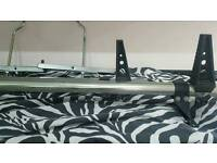 Roof bars and ladder ties lockable ca