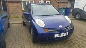 Nissan Micra 2003 1.2 16v SE 3 door *Sittingbourne