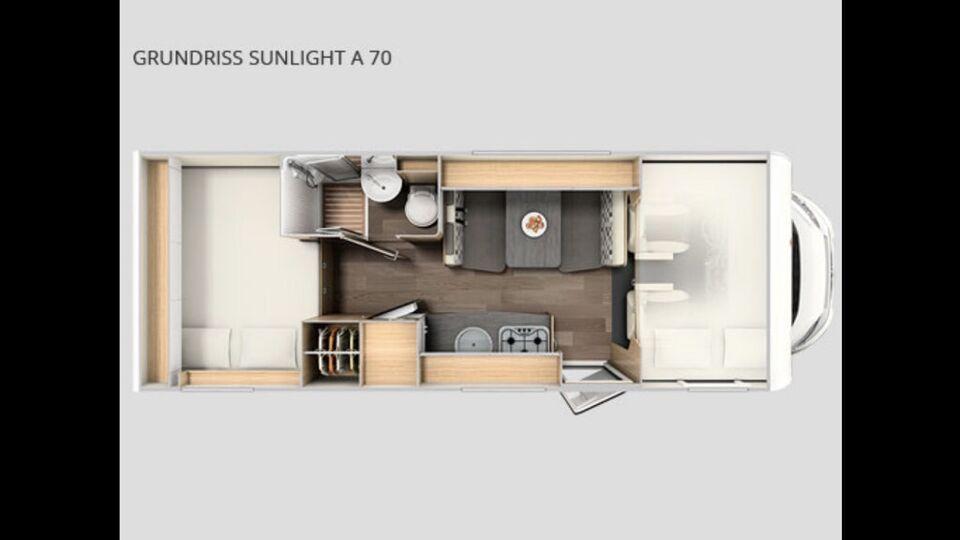 neues Wohnmobil Sunlight A70 mieten All inkl* ab 89€ ✅ in Nordrhein-Westfalen - Hagen
