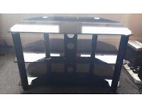 tv glass stand-3 trier